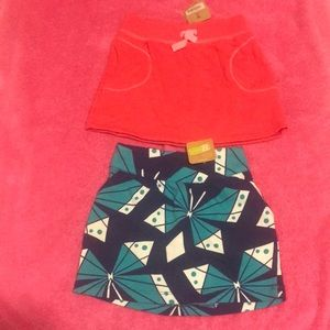 Girls Skirt Bundle of 2; New with tags!!